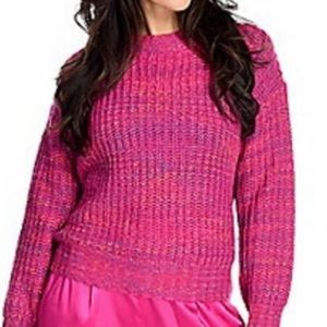 NWT Band of Gypsies pink knit sweater